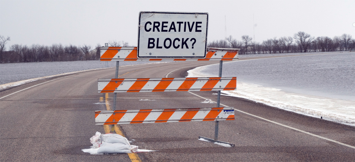 Creative Block Sign